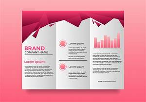 Professional Company Pink Brochure Template