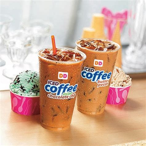 We now seem to like our coffee cold. Finally, Baskin-Robbins Flavored Iced Coffee Exists