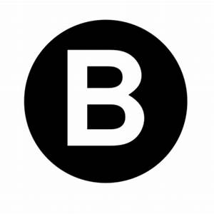 white letter b clip art at clkercom vector clip art With white letter b