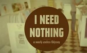 I need nothing a nearly useless odyssey par caoceito for I need nothing a nearly useless odyssey