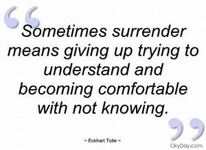 17 Best Surrend... Daily Surrender Quotes