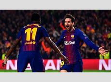 Lionel Messi, Ousmane Dembele team up as Barcelona thrash