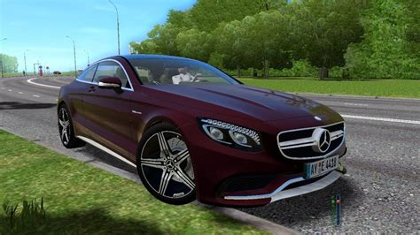 S63 Amg Coupe 2017 by City Car Driving 1 5 4 Mercedes S63 Amg Coupe 2017