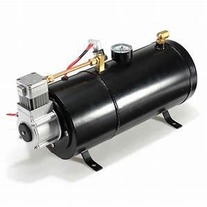 12psi 12 Volt Air Compressor Tank Pump For Air Horns