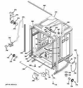 Ge Model Pdw9280j00ss Dishwasher Genuine Parts