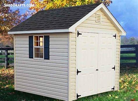 gable storage shed plans blueprints  backyard shed