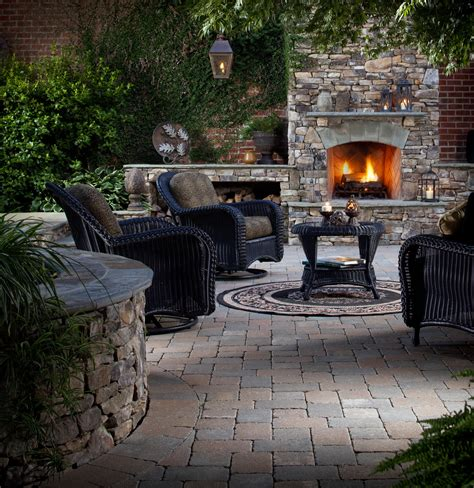 outdoor pits and fireplaces year round ideas for outdoor fireplaces and fire pits outdoor living by belgard