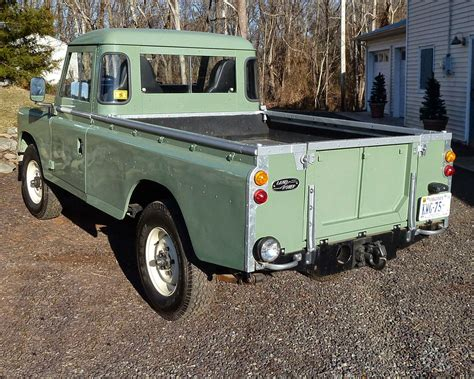 1973 Land Rover Pick Up Truck Auto Restorationice