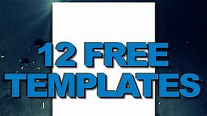 Free Youtube 2012 Channel Background Templates