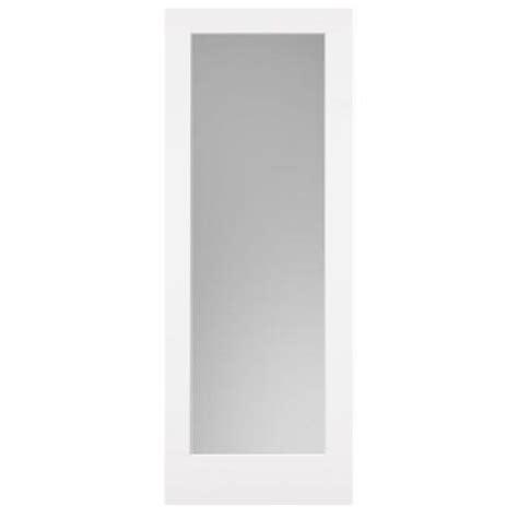 36 x 84 interior door masonite 36 in x 84 in primed 1 lite solid wood interior