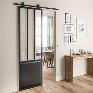 Comment Monter Une Porte Coulissante : installez une porte d 39 atelier dans votre entr e joli place ~ Melissatoandfro.com Idées de Décoration