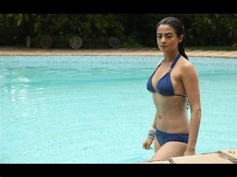 surveen chawla bikini surveen chawla hot bikini moments youtube