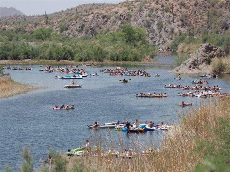 Fishing Boat Rentals Yuma Az by Thousands To At Salt River On Memorial Day Abc15
