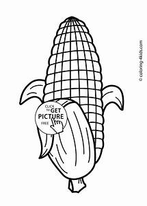 Free Printable Vegetable Coloring Pages Printable Coloring Page