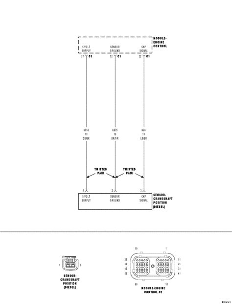 2006 Dodge Cummin Wiring Diagram by 2500 Dodge The Crankshaft Sensor Dealership Replacing