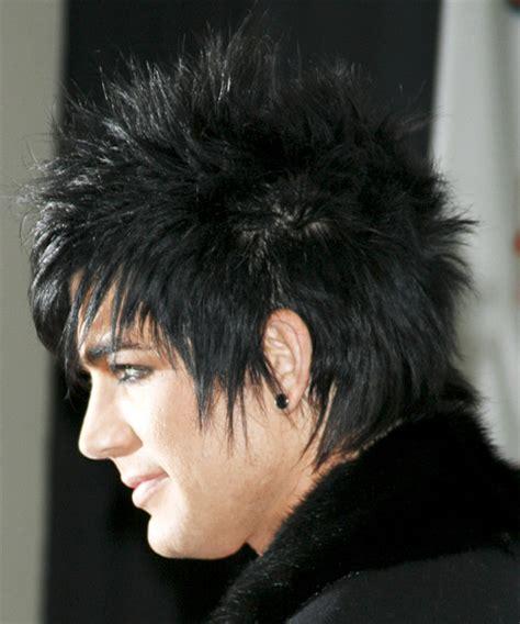 adam lambert alternative short straight hairstyle