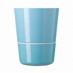 Pot À Réserve D Eau : pot hydro r serve d eau azur moyen mod le rosti mepal ~ Louise-bijoux.com Idées de Décoration