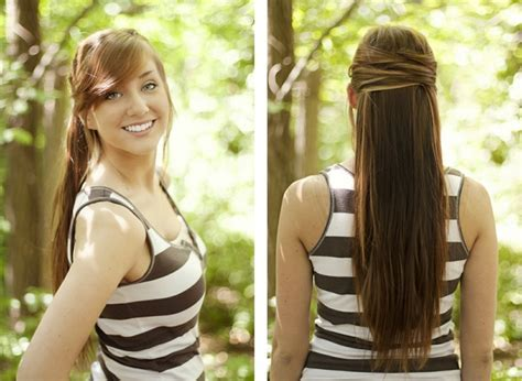 Extremely Easy Hairstyles for Lazy Girls (1)   HairzStyle