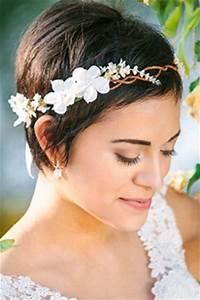 Coiffure Mariage Cheveux Court : coiffure mariage cheveux courts 2017 ~ Dode.kayakingforconservation.com Idées de Décoration