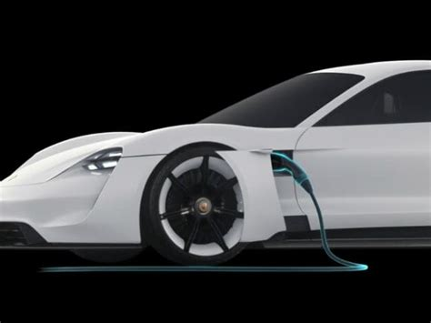 porsche electric mission e porsche goes after tesla with this amazing electric car