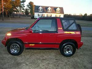 90 Geo Tracker 4x4 Convertible Sidekick Rare Lsi Towing