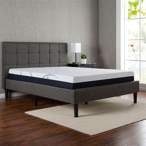 King Platform Bed With Fabric Headboard by 1000 Ideas About King Size Headboard On