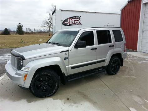 silver jeep liberty with black rims sell used 2012 jeep liberty arctic edition in ada ohio