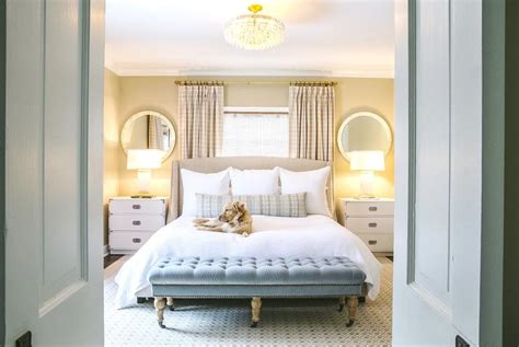 Bamboo Headboard And Footboard by Beds In Front Of Window Contemporary Bedroom Greg Natale