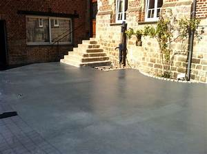 quel sol pour ma terrasse visitedeco With beton couleur pour terrasse