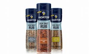 Morton Salt to Contemporize Salt Rub Packaging Design ...