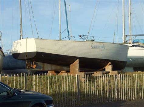 Boat Hulls For Sale by At Rye Harbour And A Handsome Motor Launch