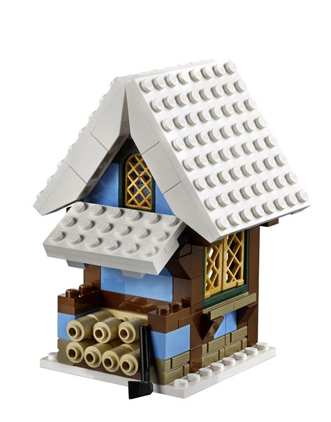 Winter Cottage Lego by Lego Creator Expert Winter Cottage 10229