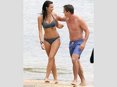 Home And Away's Johnny Ruffo frolics on beach with costar
