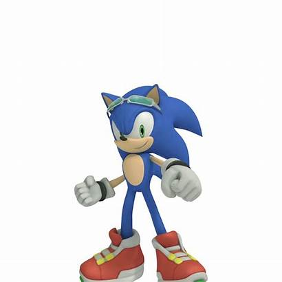 Sonic Riders Official Hedgehog Ready Pose Continue
