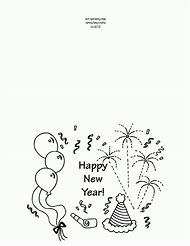 Free Printable Birthday Card Coloring Pages
