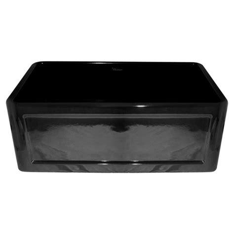 black apron front kitchen sink whitehaus collection reversible concave farmhaus series 7863