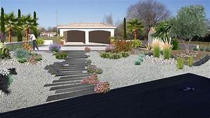 faire un jardin autour dune piscine planter les abords d With idee amenagement jardin paysager 4 amenagement paysager autour dune piscine classique