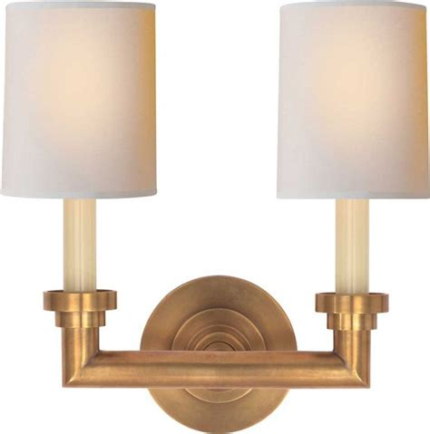 Wilton Double Sconce Possible For Stairway In Antique