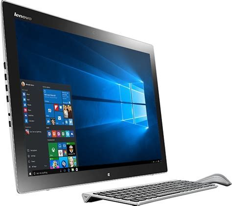 "Best Buy: Lenovo Horizon II 27"" Portable TouchScreen"