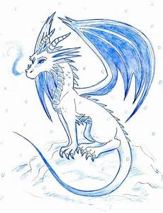 The Ice Dragon by phantomphanatic2910 on DeviantArt
