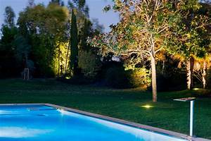 Eclairage Exterieur Jardin : clairage ext rieur de jardin bechard sarl ~ Melissatoandfro.com Idées de Décoration