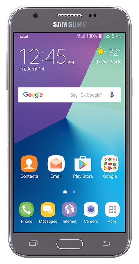 cricket launches samsung galaxy amp prime