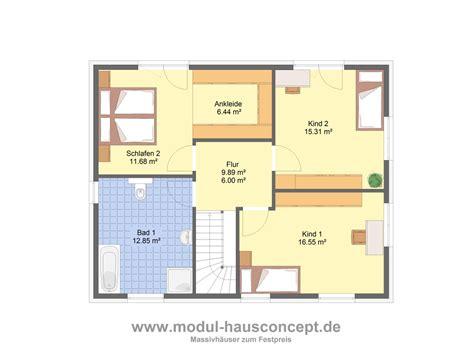Stadtvilla Grundrisse 140 Qm by Modul Hausconcept Stadtvillen