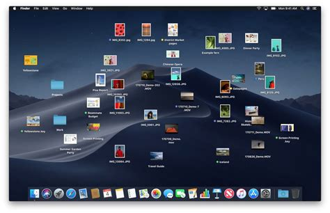 Stacks In Macos Mojave Clean Up Your Cluttered Mac Desktop