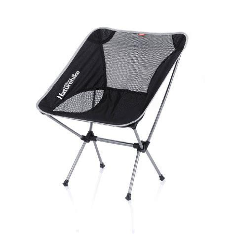 portable aluminum folding cing chair lightweight