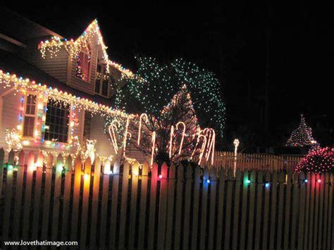 christmas lights  fence love  image