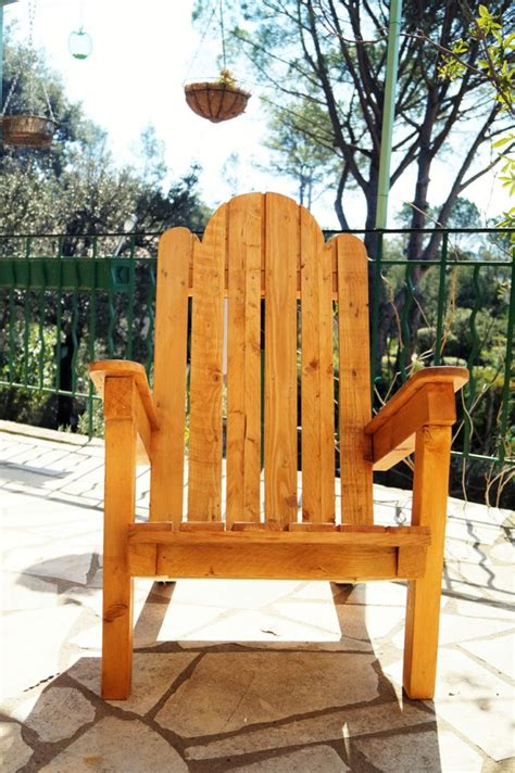 plan chaise de jardin en palette j 39 ai fabriqué un fauteuil de jardin en palettes jeanne s