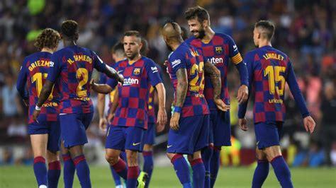 El apretado calendario del FC Barcelona tras el parón ...