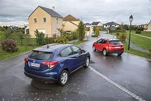 Honda Hrv Fiabilité : essai comparatif le honda hr v 2015 d fie le peugeot 2008 photo 3 l 39 argus ~ Gottalentnigeria.com Avis de Voitures