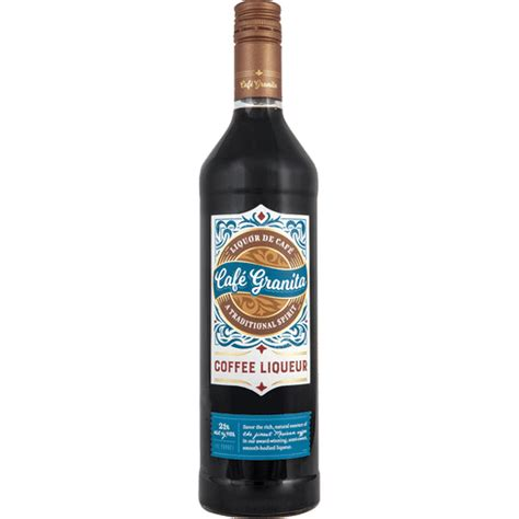 › coffee with creamer nutrition. Cafe Granita Coffee Liqueur | Total Wine & More